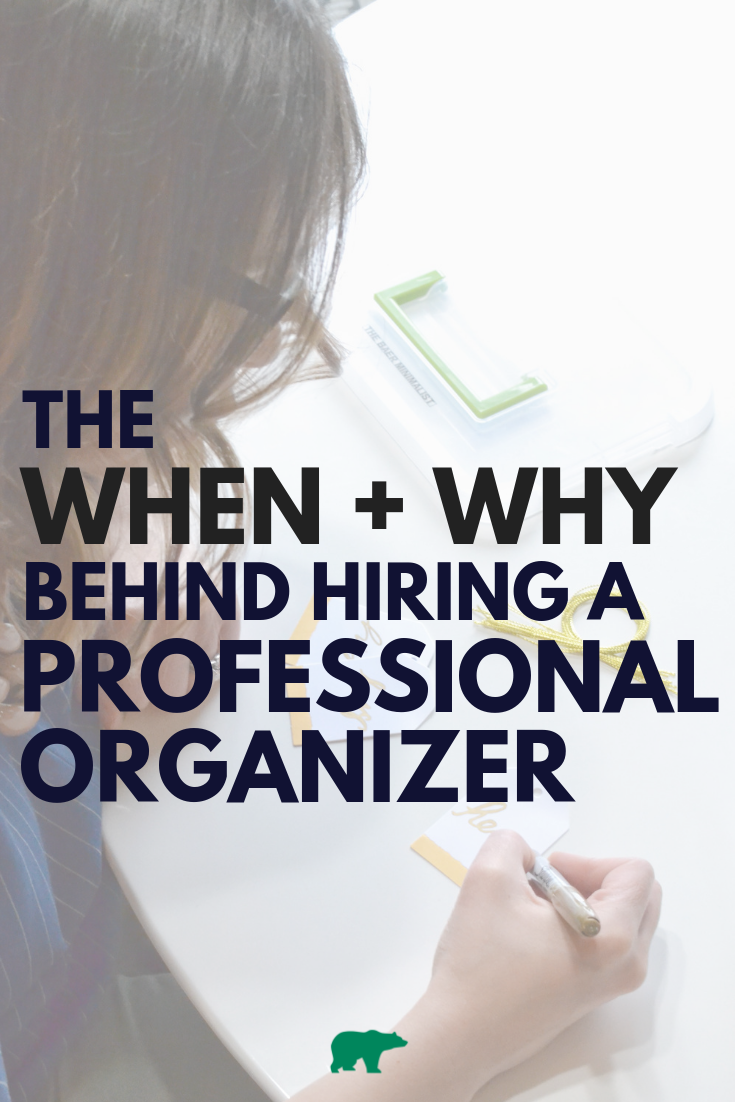 When + Why to Hire a Professional Organizer
