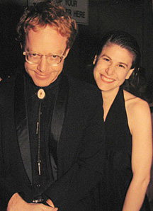 With Mentor Danny Elfman