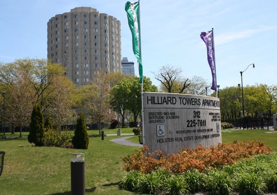 Hilliard Towers Senior Living - Hilliard Towers Senior welcomes you home to the best value in senior living in the heart of the historic South Loop. This gated community features lighted walkways, gorgeous planting, a community garden and outdoor amphitheater. Notable values include free heating, parking, air conditioning, fitness center, and fun, exciting senior activities. Located five minutes from downtown, two minutes from Lake Shore Drive and the Dan Ryan; nearby neighborhoods includes South Loop, Pilsen and Chinatown. Hilliard Towers Senior promises to be the choice for Senior Living. Holsten Human Capital Development provides services to support seniors' independent living including life skills assessment and social services referrals.Contact information:54 W Cermak | Chicago, IL 60616 | Phone: 312-225-6691 | Fax: 312-225-6689