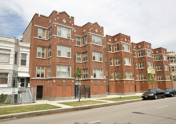 Lawndale Restoration Apartments - The Lawndale Restoration Apartments, in partnership with Acorn Development, is comprised of the renovation of 170 units in ten buildings in Chicago's Lawndale neighborhood on the south side. The one, two, three, and four bedroom units are designated project-based, Section 8 to preserve and improve affordable housing. All ten buildings in the Lawndale Restoration Apartments are located in a 2-square mile area, centering around the 3100 – 3600 blocks of Douglas Boulevard. The buildings are spacious three story walk-ups built between 1890 and 1940. Some are grey stones; most have 12 to 24 units; and several have courtyards. HHCD provides services to families, individuals, children, young adults and seniors in the residences.Contact information:6 N Hamlin | Chicago, IL 60623 | Phone: 773-638-2904 | Fax: 773-638-2884