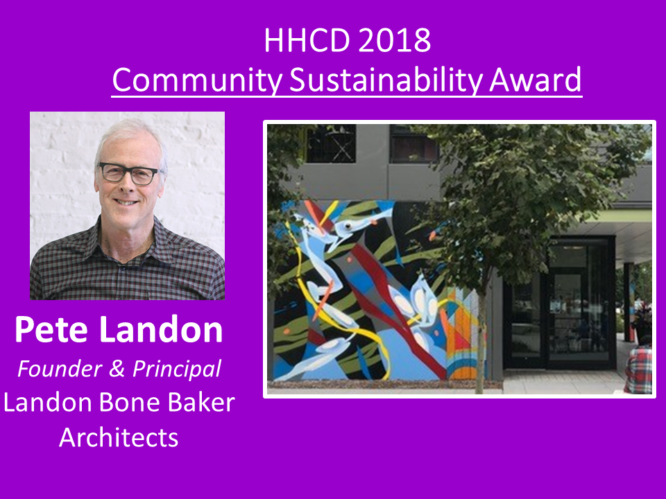 As Chair of Chicago Public Arts Group and also a partner architect, Pete spearheaded HHCD's intergenerational mosaic projects at Hilliard and Parkside locations, using design and compassion to inspire our residents to feel connected to where they live.