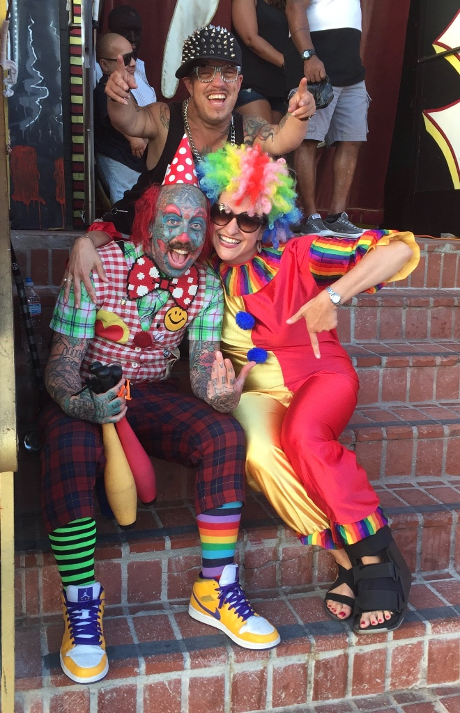 My high school mascot was a Jester (it was an all-girl's school). Our student handbook described the Jester as a symbol of Christ's passion - someone who is willing to take on suffering to bring joy.   Like everyone, I've had challenging experiences...failures, heartbreaks, let-downs. For a long time I didn't want to share my challenging experiences because I didn't want to be embarrassed. And I for sure didn't want to be seen as Flawed because of them.  But what's Awesome is that when I'm vulnerable and share my stories, I see them impact other's lives for the better. Which makes me feel like a big part of why we go through challenging times is so that our experiences can be of service to others.    Have you gone through a challenging circumstance? Are you going through one right now?   Is it possible for you to see where this challenge is here for you not only to grow yourself, but also to grow the world around you? Is it possible that if you let others know what you've been through that they will be inspired to know they can also make it through their challenges? Can you see where if others know what you're going through, they might recognize themselves in you and know that they aren't alone in their struggles?    Are you willing to be uncomfortable and share yourself so others will be lifted up?    Cause here's the REALLY juicy part...when we give to others we are also giving to ourselves! When you are inspiring other people, you are standing in inspiration yourself so it has no choice but to get all over you too. When someone sees themselves in you, you also have the chance to see yourself in them and know YOU are not alone. Literally, everyone wins!   So will you please join me in living a Flawsome, Jester-inspired, life? Will you join me in sharing your stories, even if it feels painful to do so, because then there will be more joy in the world?  Trust me, if I can do it -  SO CAN YOU ! And I can't wait to see what we create together.