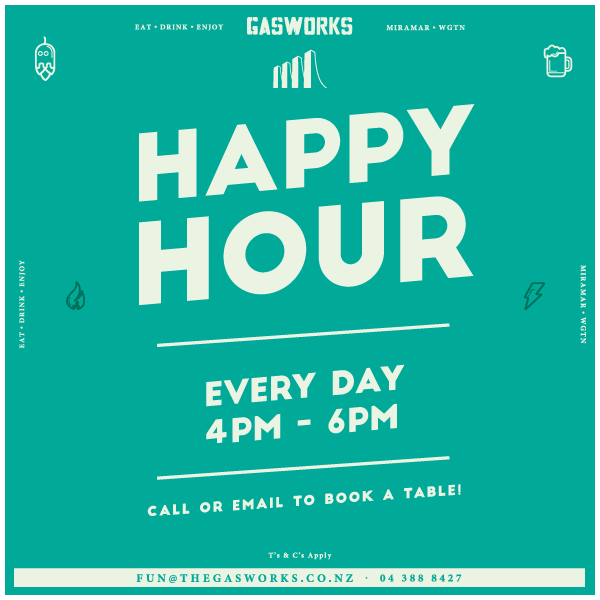 Gasworks Happy Hour