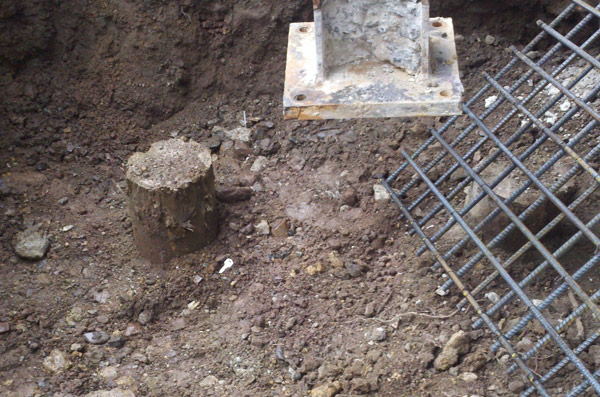 Investigation of piles not engaged in Pile Cap  Guttenberg, NJ