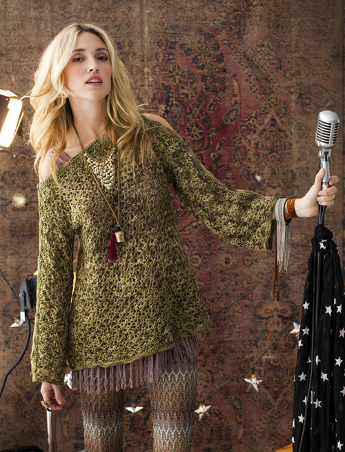 Vogue Knitting Crochet 2012, photo by Rose CallahanDesigner: Mary Beth Temple