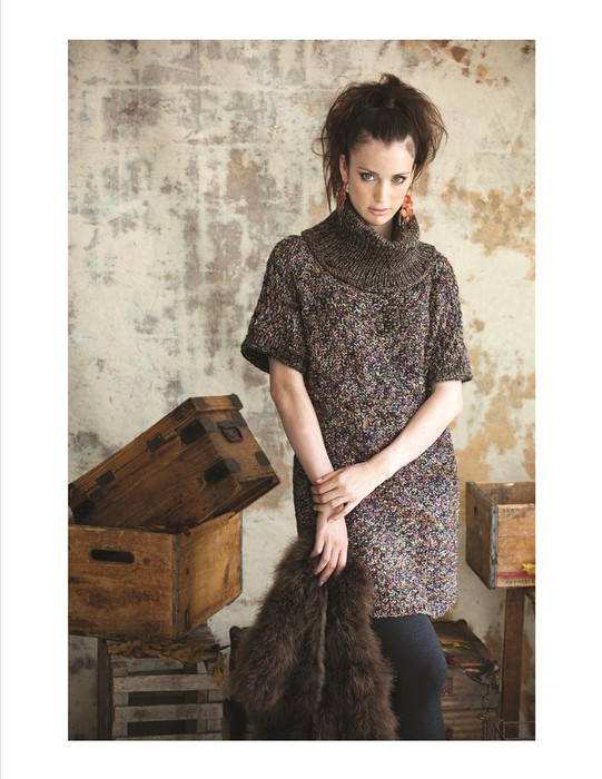 Vogue Knitting Fall 2011, photo by Rose Callahan Designer Maie Landra
