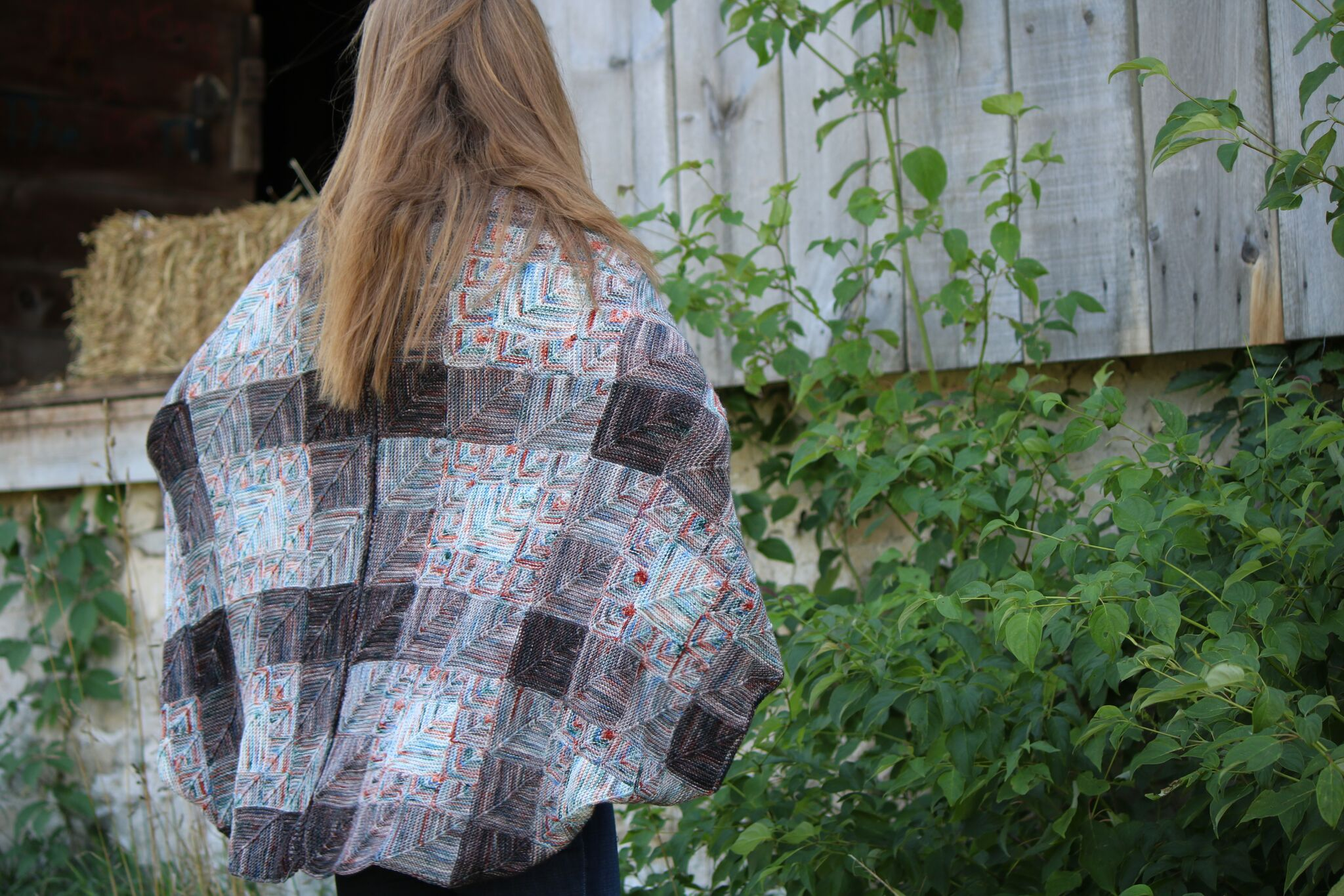 Viking Poncho - Features 3 of the gradient packs. View more in magazine 8.View MoreShop