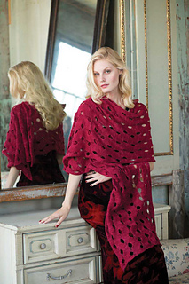 Oversized Shawl   Vogue Knitting Holiday 2015  By: Jacqueline Van Dillen