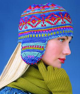 Fair Isle Hat  Vogue Knitting 2002/2003  By: Pam Allen