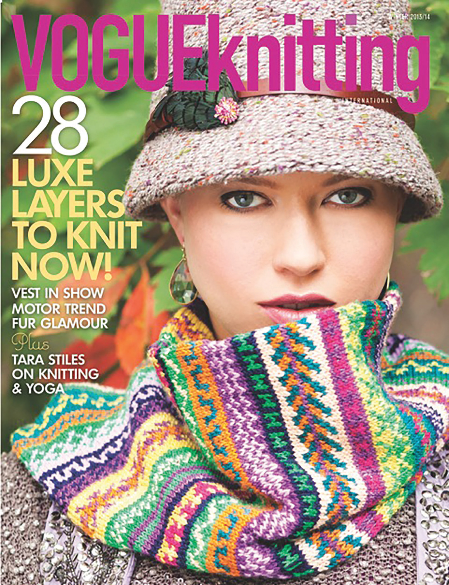 Mobius Cowl - By: Maie Landra   Knit In Koigu KPM   Vogue Knitting Winter 2013/2014