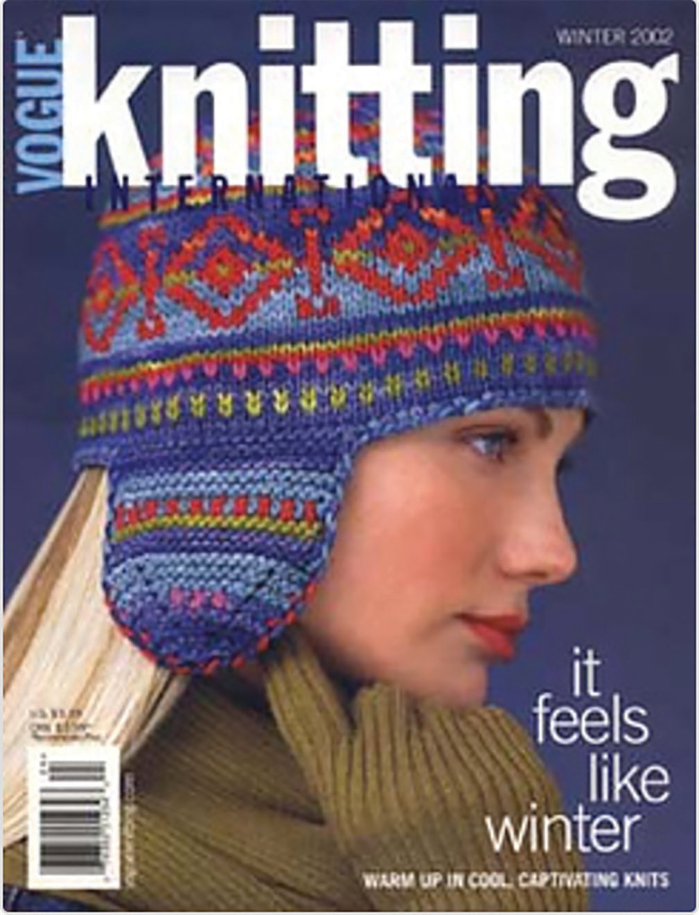 Fair Isle Hat - By: Pam Allen  Knit in Koigu Kersti   Vogue Knitting Winter 2002/2003