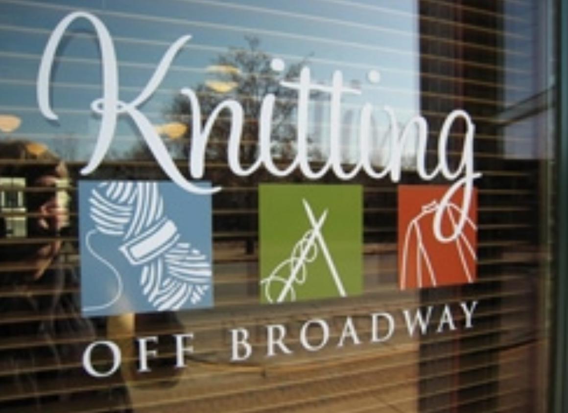 Knitting Off Broadway - Address: 1309 Broadway, Fort Wayne, IN 46802, USAPhone: +1 260-422-9276http://www.knittingoffbroadway.com/