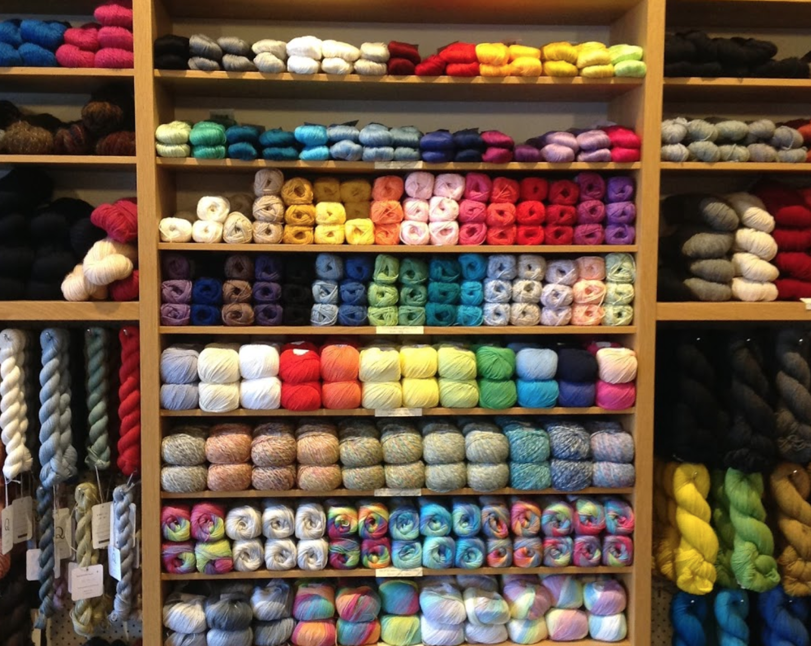 Yarn + Co. - Address: 59 Smith Street, Fitzroy, Melbourne, VictoriaPhone: 03 9416 3306https://www.yarnandco.com/