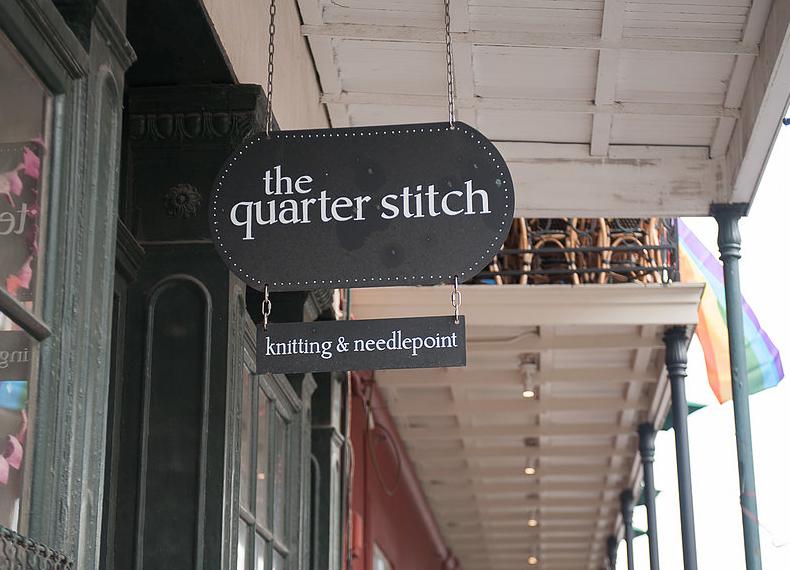 The Quarter Stitch - Address: 629 Chartres St, New Orleans, LA 70130, USAPhone: +1 504-522-4451https://www.quarterstitch.com/
