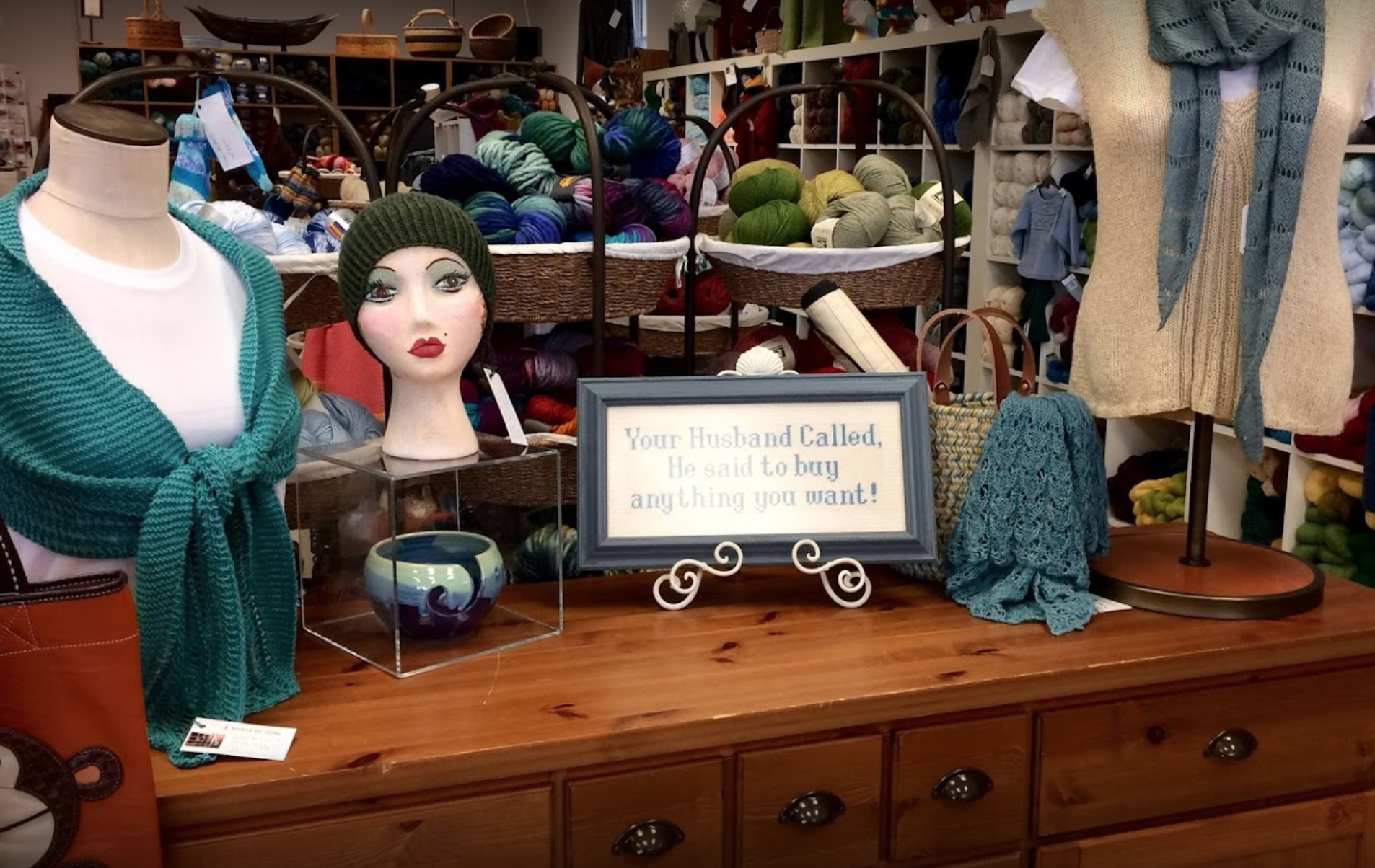 A Stitch in Time - Address: 10 Stony Hill Road, Bethel, CT 06801http://www.astitchintimect.com