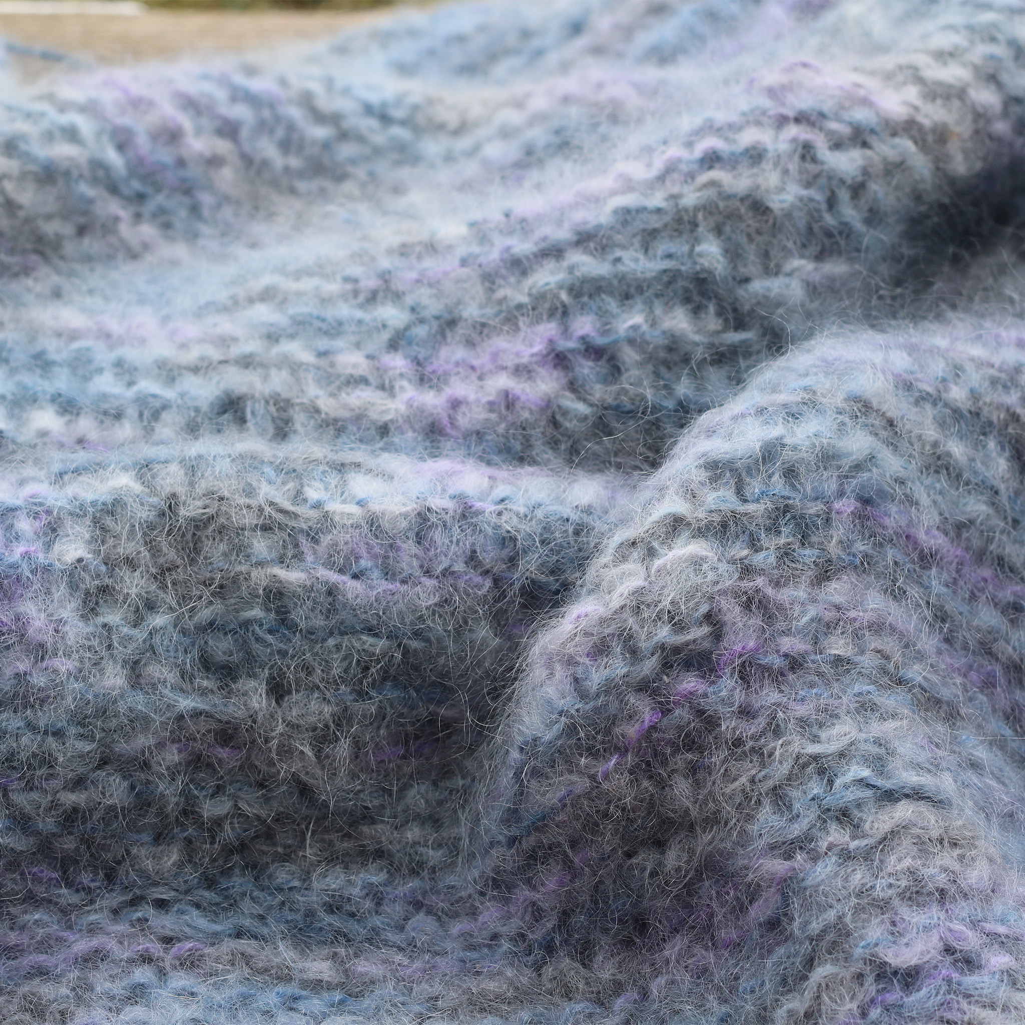Knit Mohair Blnaket - Takes about 7 skeins!