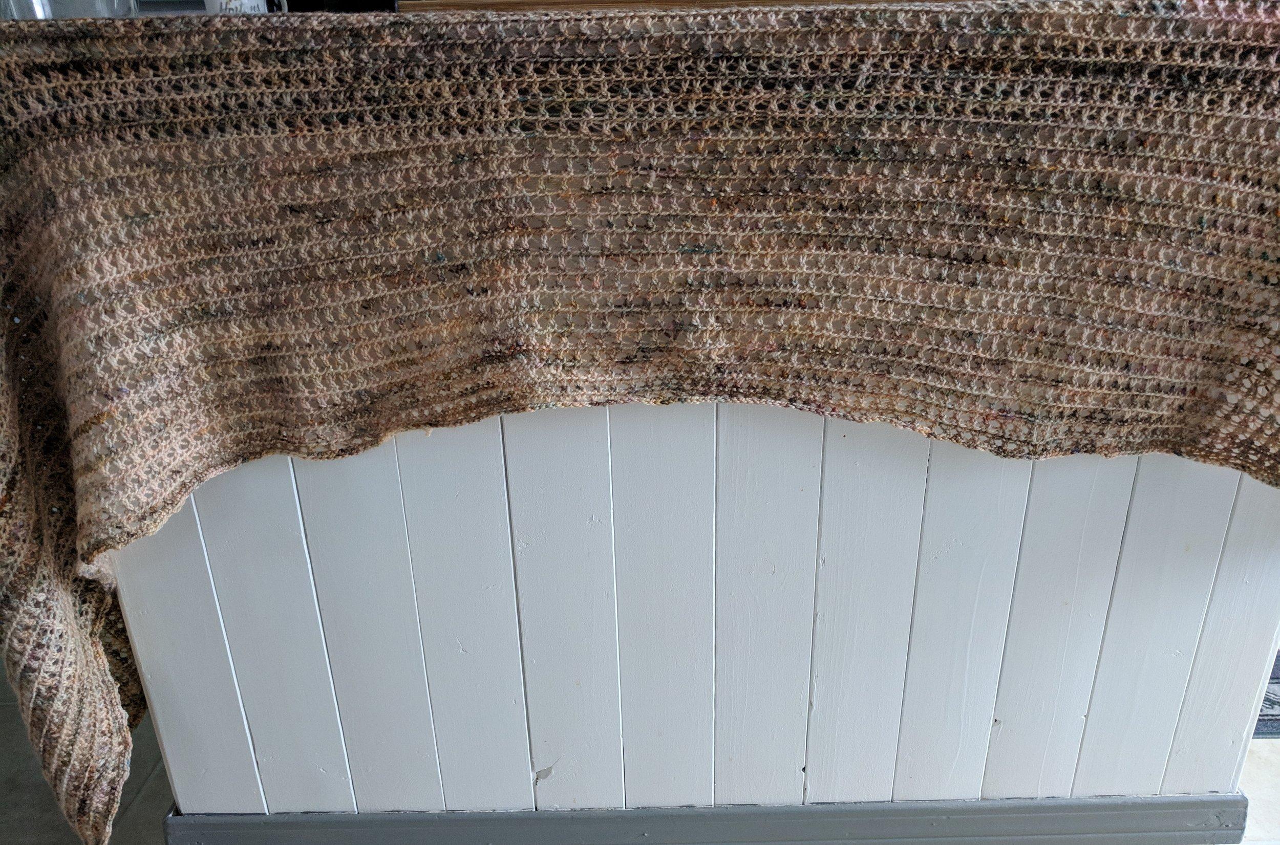 Martha - Little angel shawl