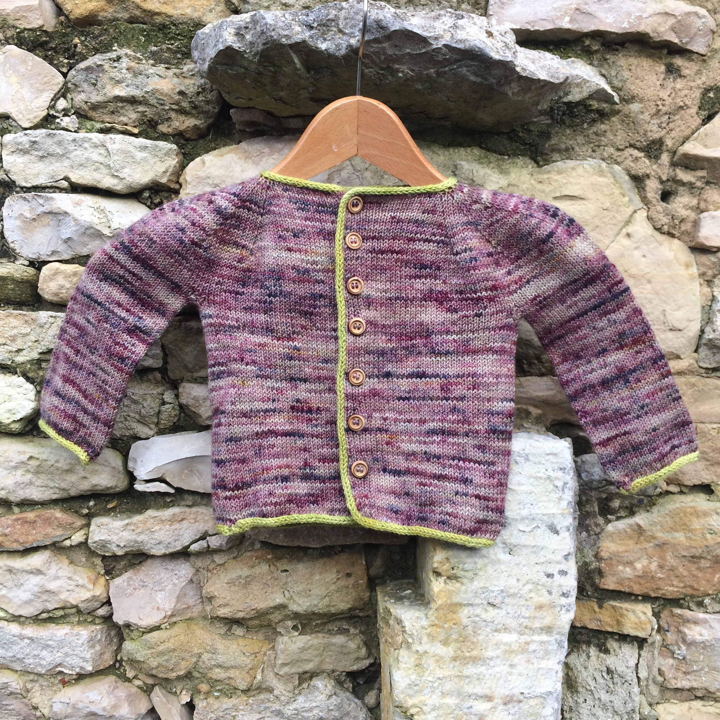 Clemence - I am really very happy of the project I knitted with your wondurful wool and great colors ! I discovered your yarn at downtown yarn shop in New York City , took them back to Paris (France) knit this perfect pattern Eole for Jeanne my 1st grand daughter and ... send her the sweater in Geneva !!!So your yarn travelled a lot