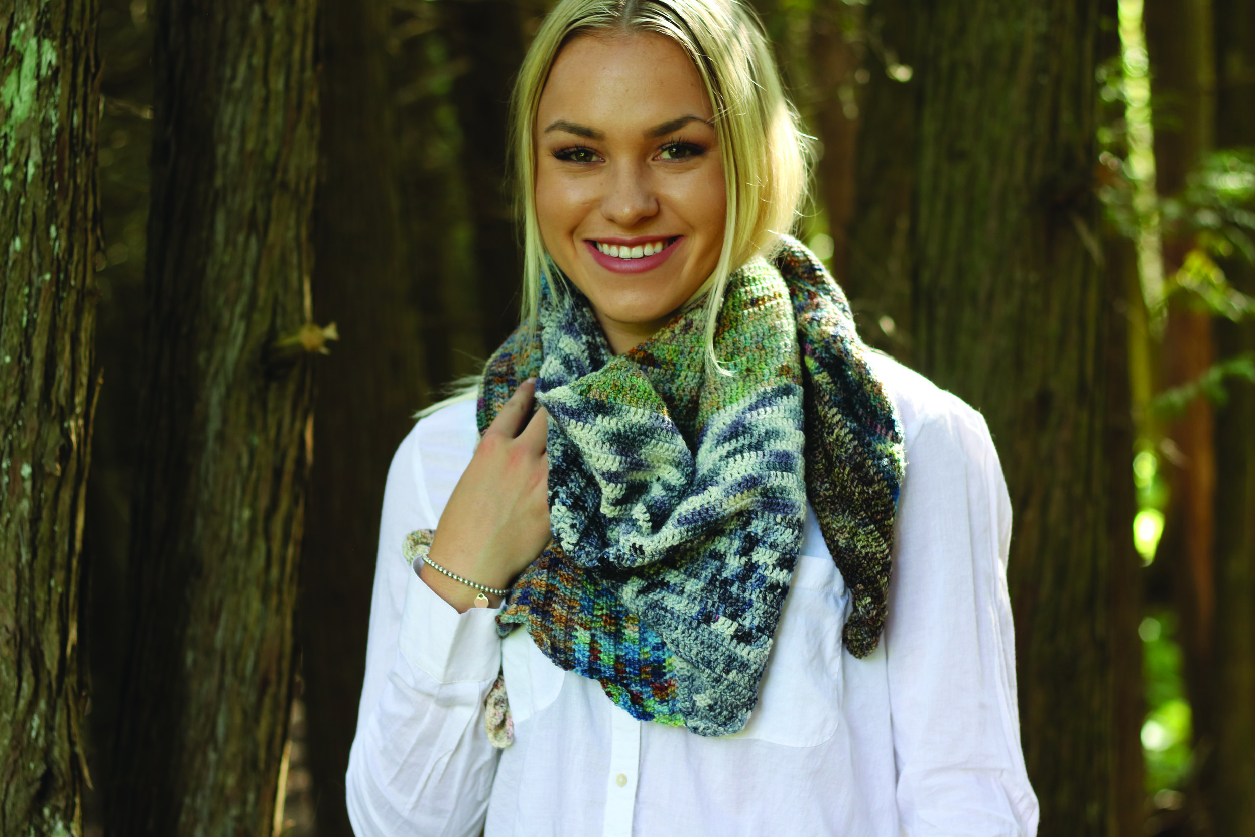 Vortex Shawl  By: Melissa Leapman