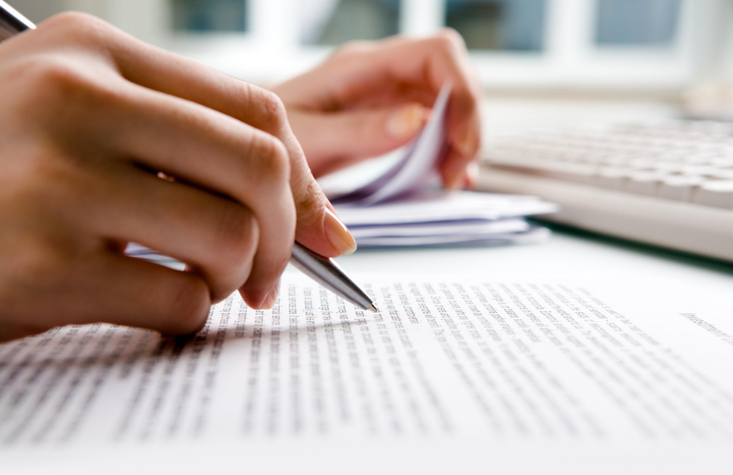 - Legal Writing