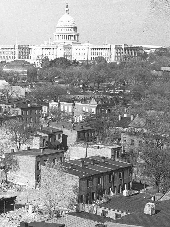 Learn more… - An overview of the history of the WharfRecommended reading: Southwest DC history from the 1700's to the 1950'sA look at how Urban Renewal affected Southwest DC residents