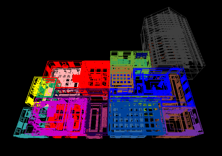 The House in Wireframe