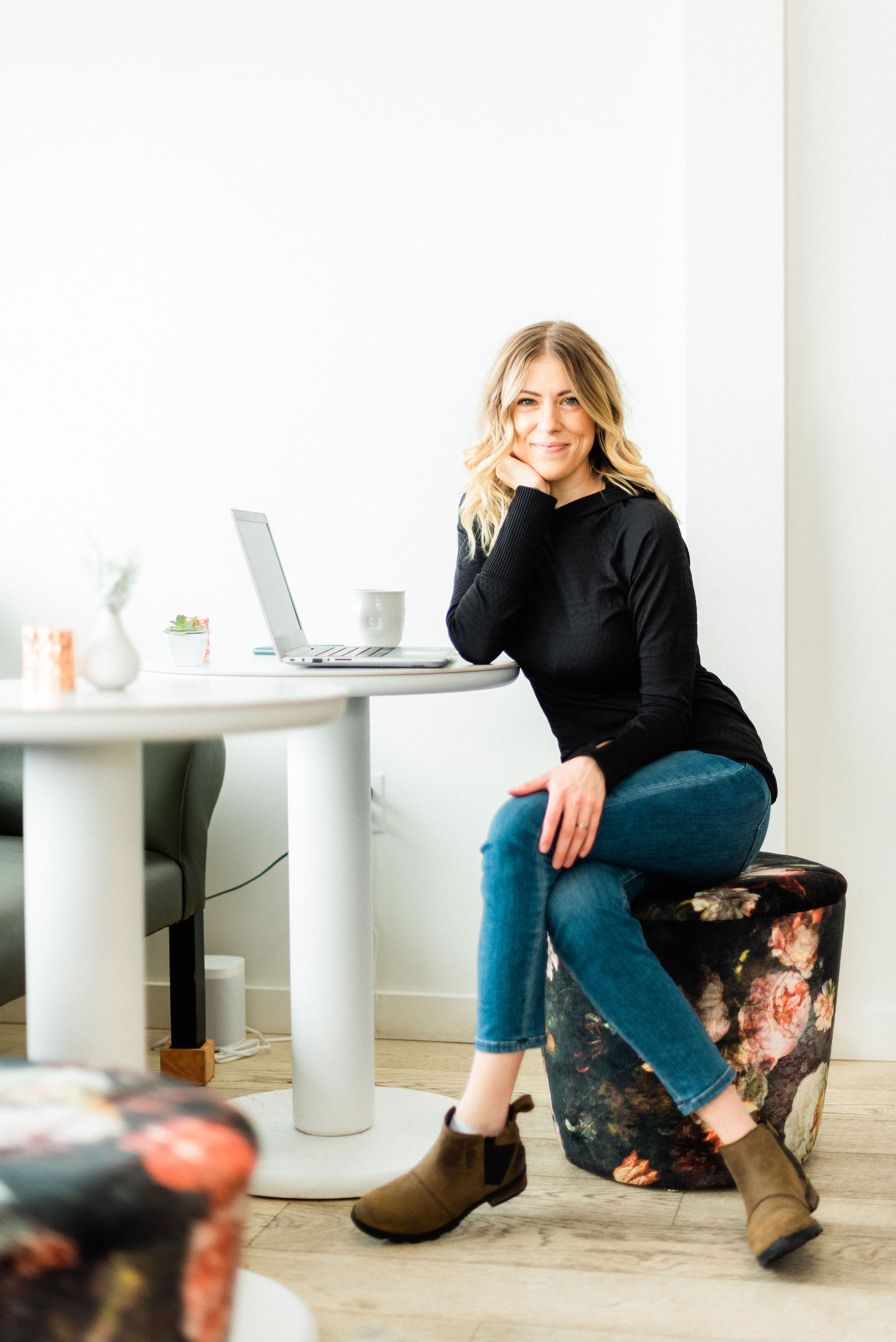 """""""It's about time you had a website that works as hard as you do."""" - - Ciera Krinke, CEO"""