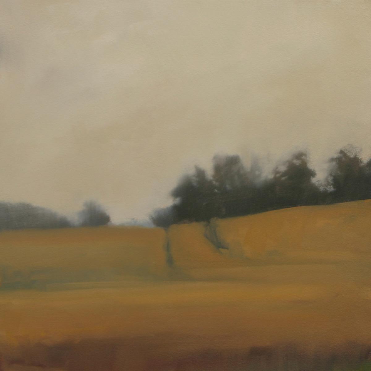 Autumn Path (study) 12x12 inches