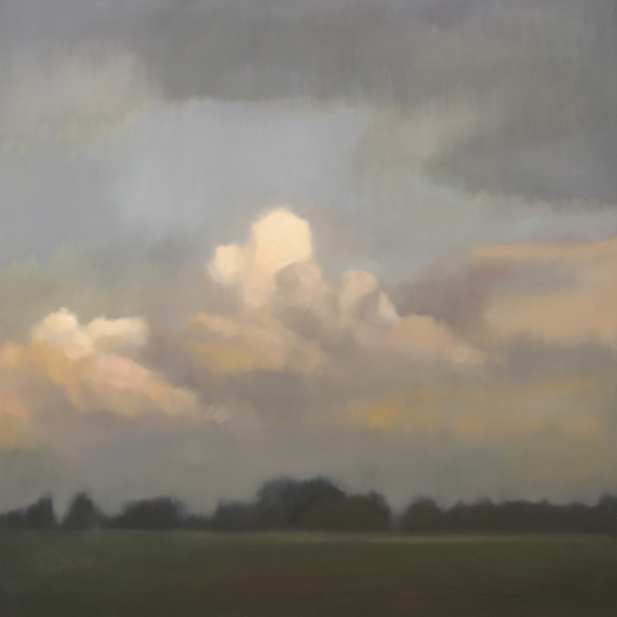 Late Summer Evening, 48x48 inches