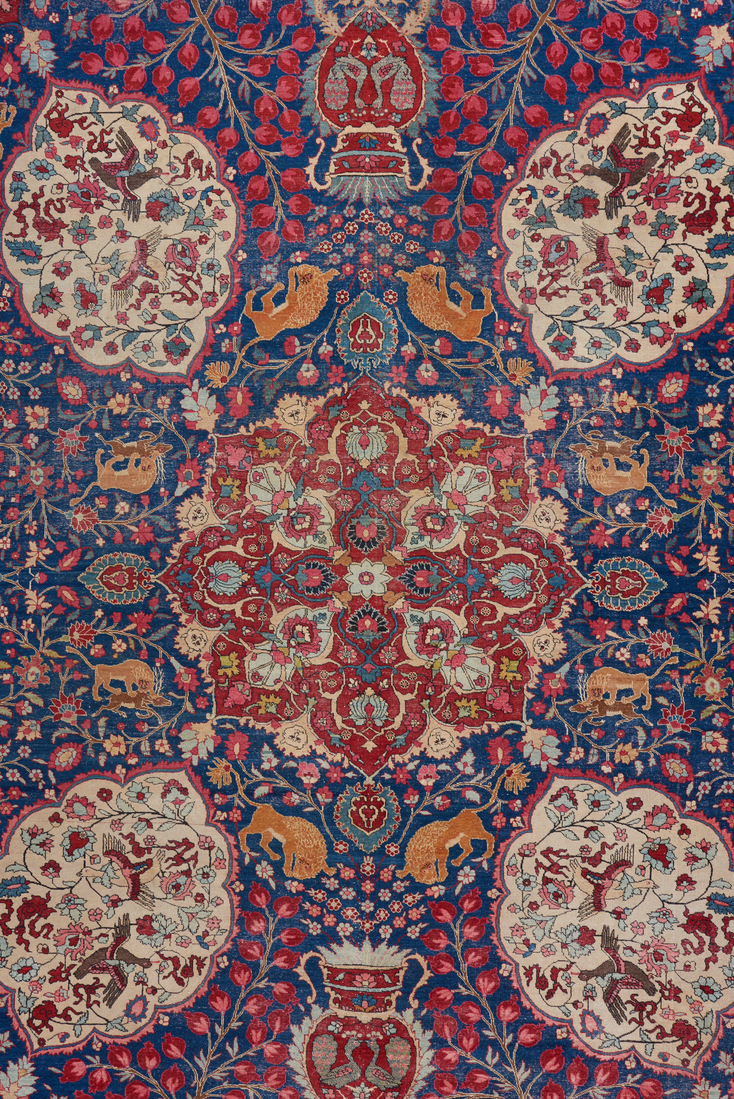 ABOUT US - The Bolour family has been in the antique carpet business for three generations. Starting out in Tehran as the premier destination for foreign collectors of tribal rugs, the business soon expanded to become a leader in the field of Decorative carpets and tapestries throughout Europe and the United States. The Gallery is now located in the heart of the design district in Los Angeles, where father and son Benyamin and Noah Bolour run the operation hand in hand.With a comprehensive inventory spanning almost every category and provenance imaginable, we are uniquely positioned to serve both the highly seasoned collector and the aesthetically-conscious designer/homeowner. In addition to antique carpets, our inventory includes tapestries, textiles and a variety of antique art objects from around the world. All of our pieces are selected with careful consideration in regards to historical importance and aesthetic merit.Please visit our gallery at 932 N. La Cienega blvd. By appointment only.Contact us by email at noah@bbolour.com or by phone at 310-289-7959.