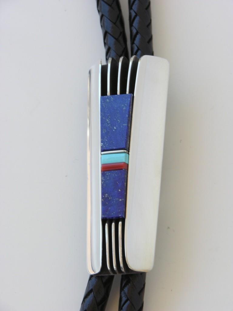 Santa Fe Style Lapis Inlay
