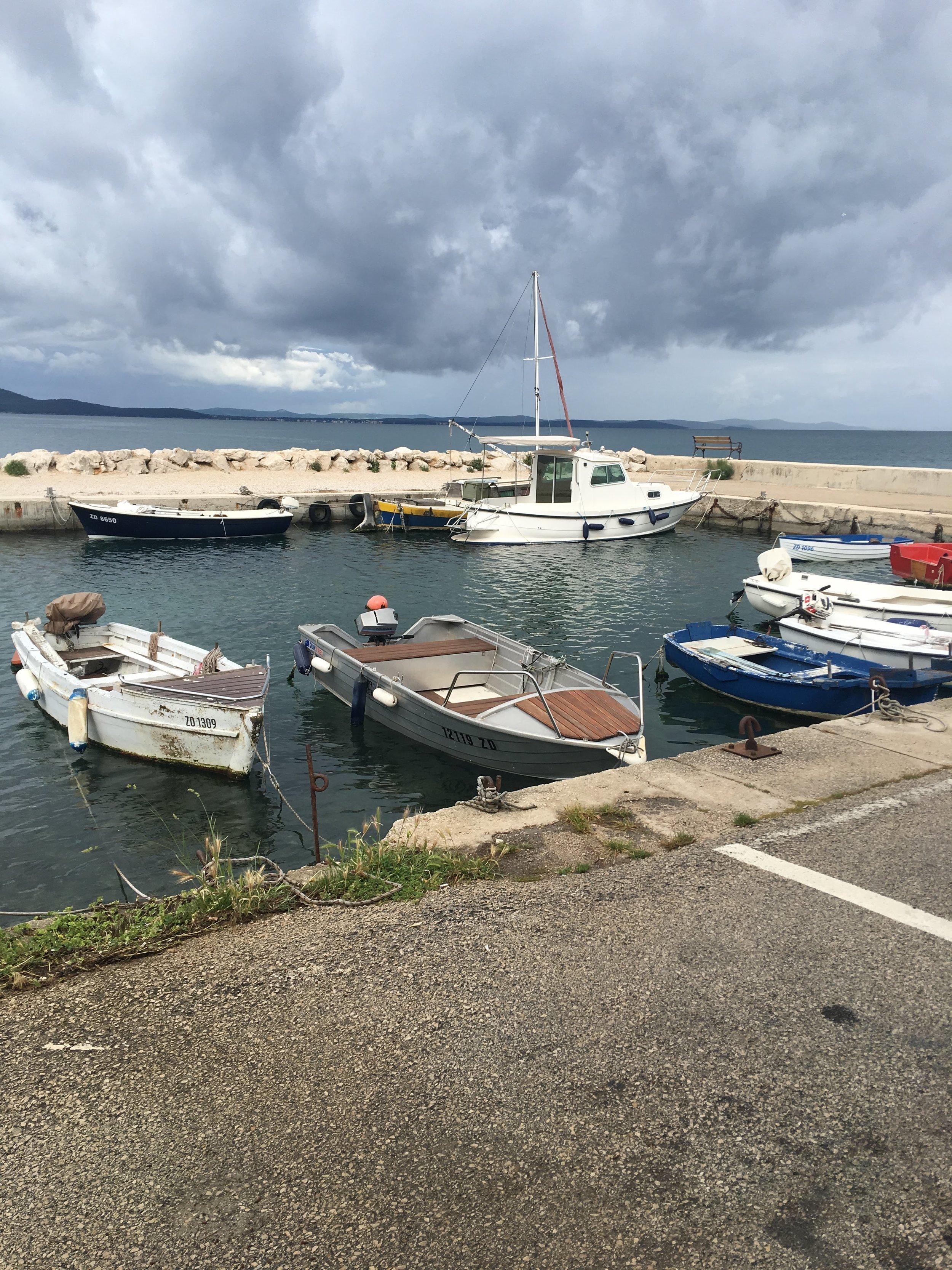 Boats in Zadar
