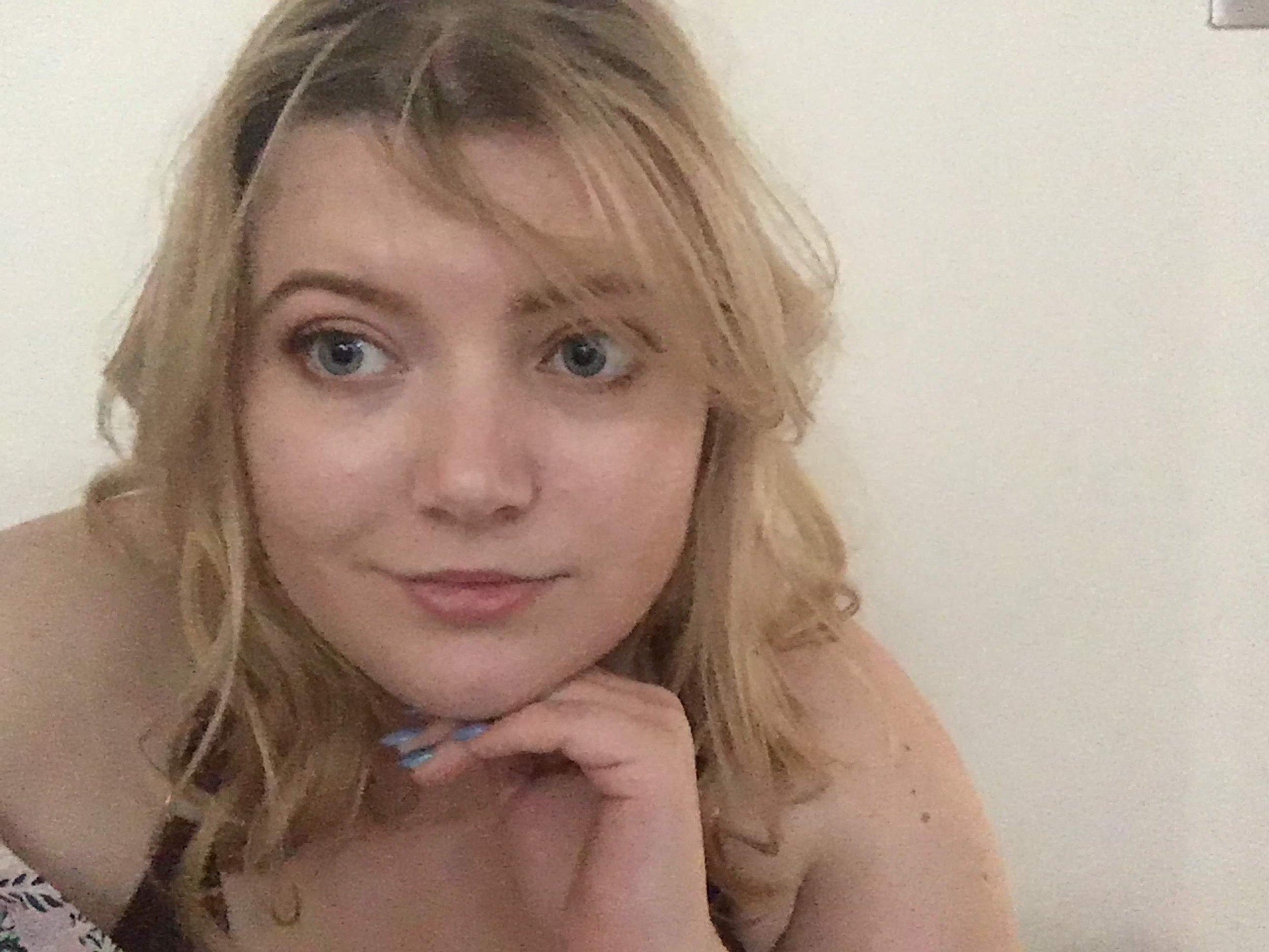 Dyed my hair blonde