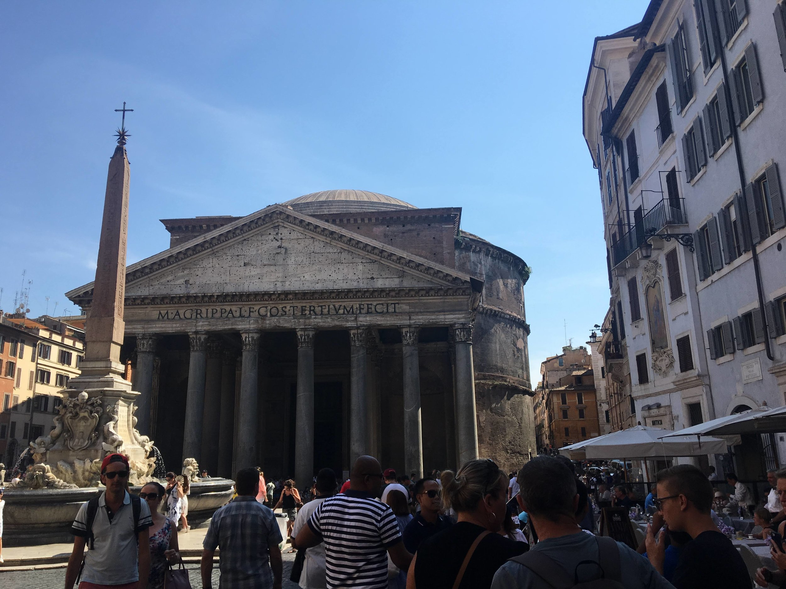 Went to the Roman Pantheon