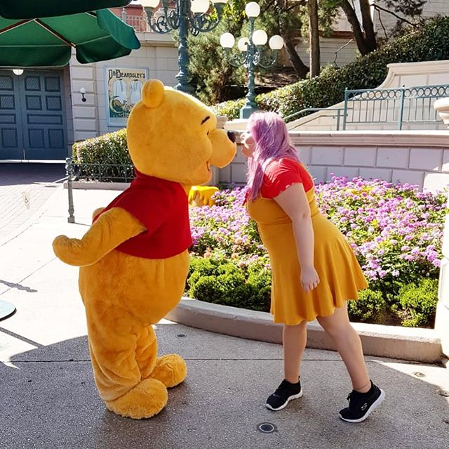 I found another Disney photo. Sorry not sorry 😂  #disneylandparis #disneyinspiredootd #disneyspam #disneybound #winniethepooh #poohbear #disneyinspiredoutfit #disneyoutfit #ootd #sheffieldblogger