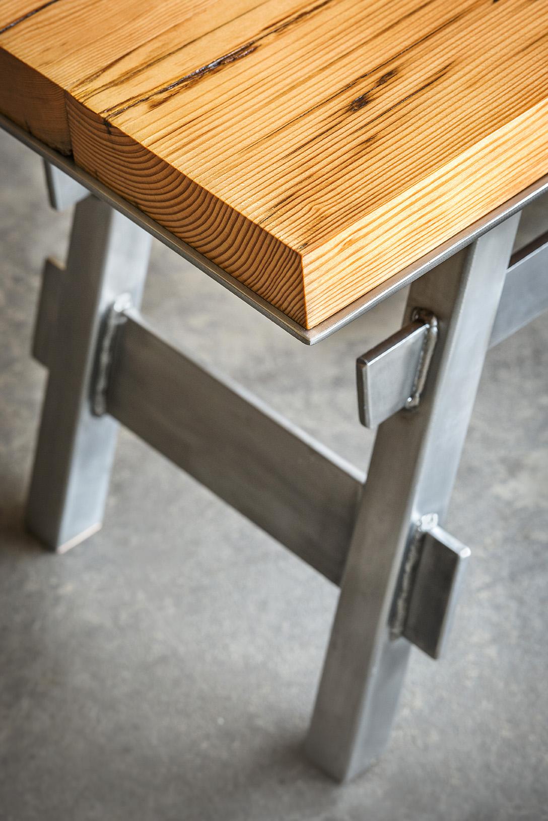 "Pedestal Collection  -  Bench  -  48"" x 15"""