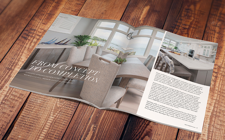 From Concept to Completion - MRPM was featured in the current issue of Bay Magazine's Open House. Click here to read more!