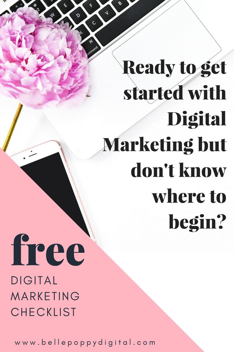 Get Your Free Digital Marketing Checklist