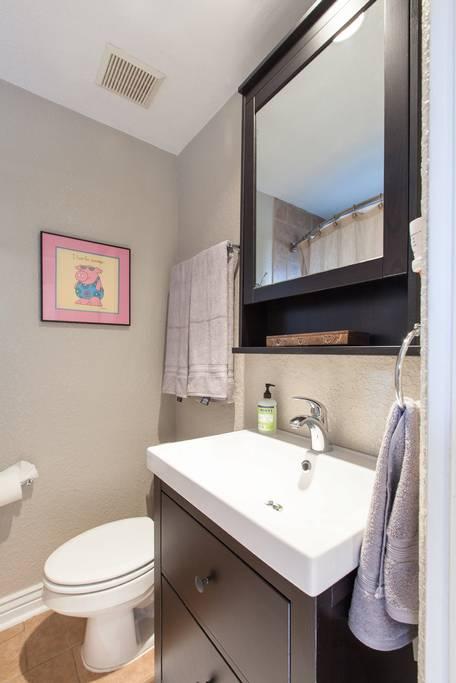 Denver Airbnb Bathroom