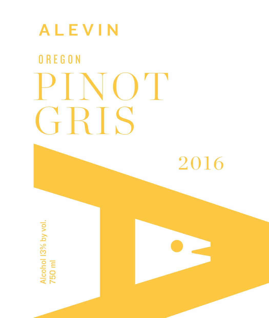 2016 Pinot Gris -