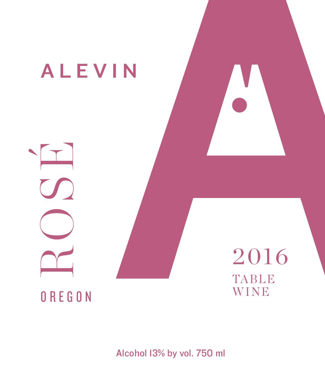 2016 Rosé -