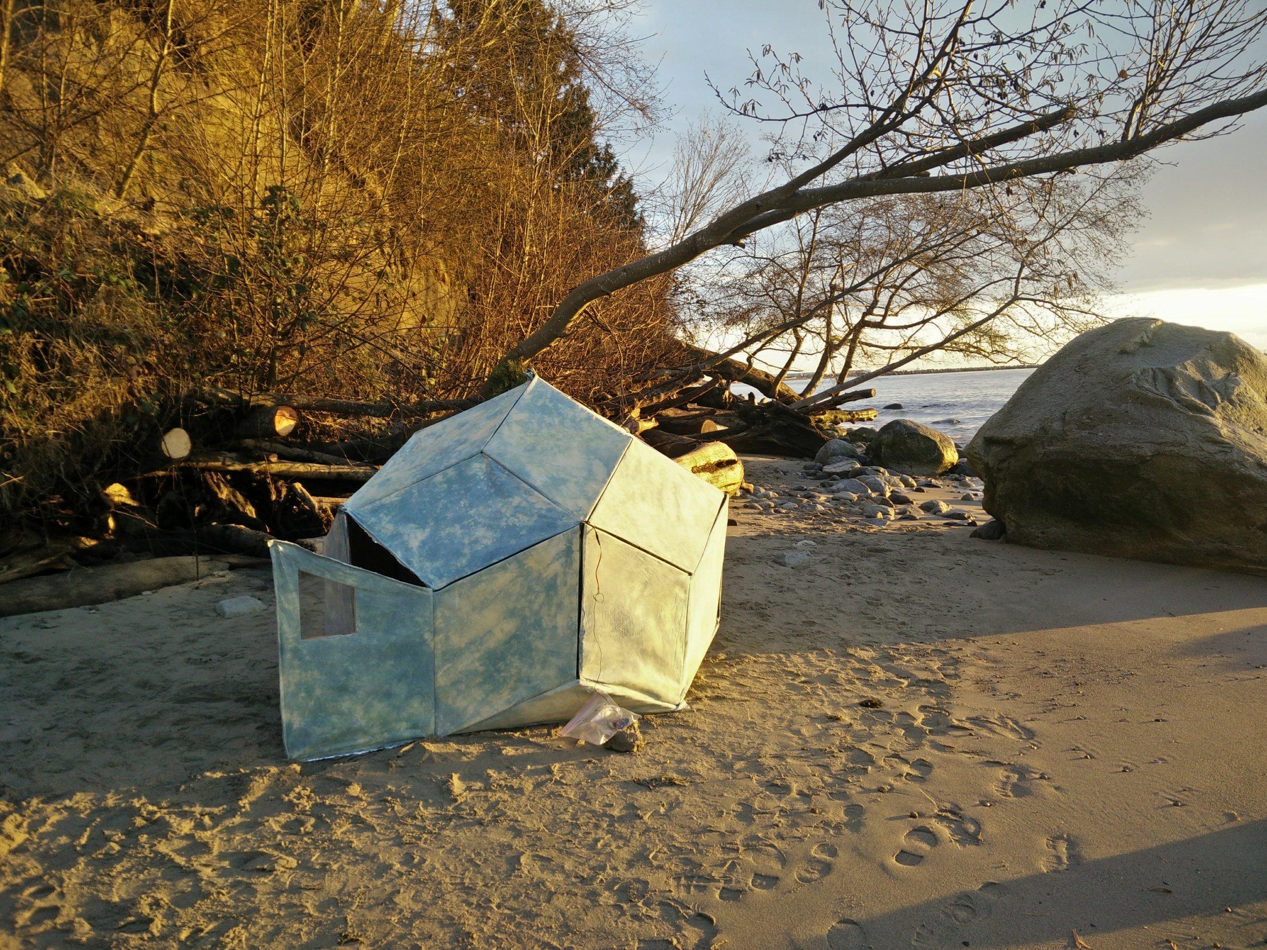 Cloud House - a Sauna on the beach