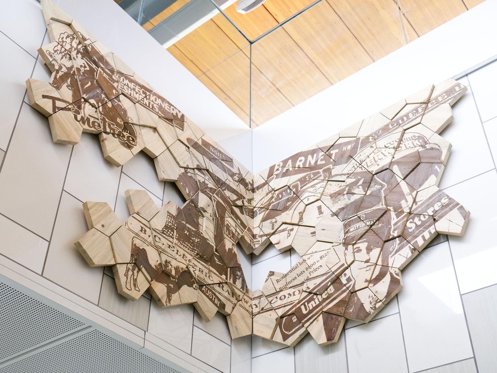 Lafarge lake – Douglas - skytrain station public art