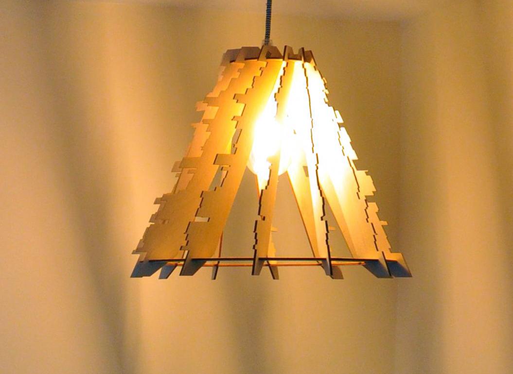 glitch - Parametric lamp design
