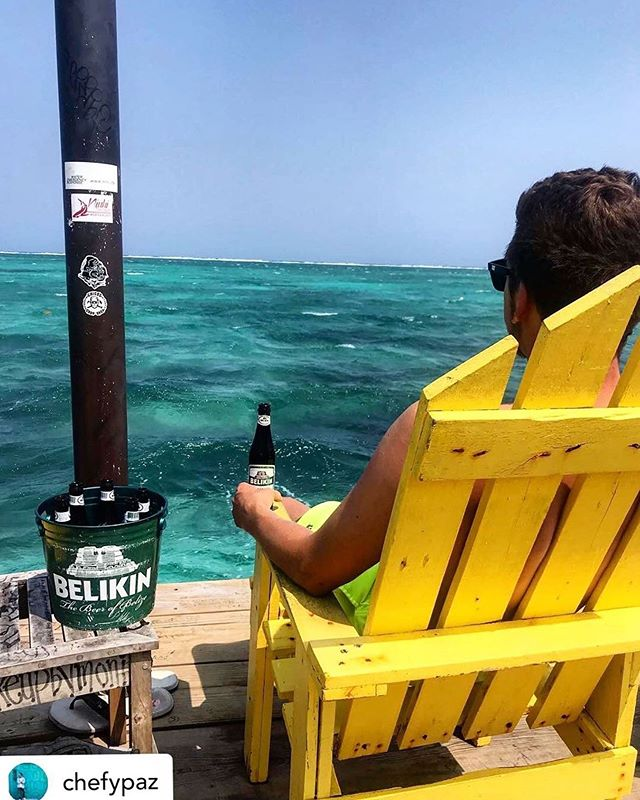 I #belize in having another beer! Like if you agree! 📷: @chefypaz