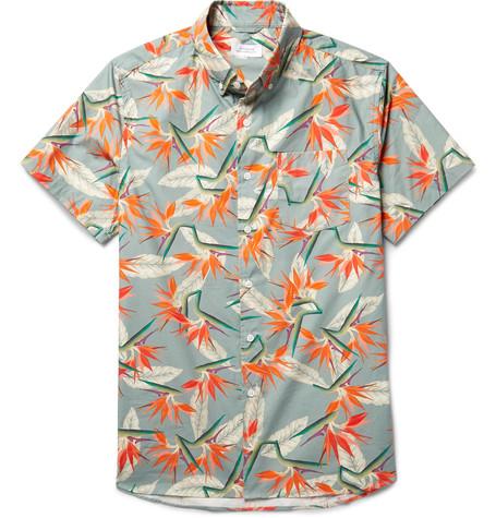 Saturdays NYC Esquina Button-Down Shirt - $145.00
