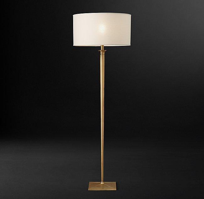 Ritz Floor Lamp by Restoration Hardware