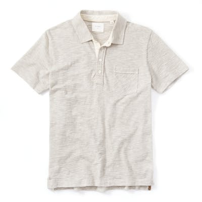 Billy Reid Ombre Stripe Polo