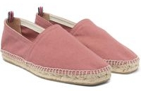 Castaner Men's Pink Pablo Washed-canvas Espadrilles