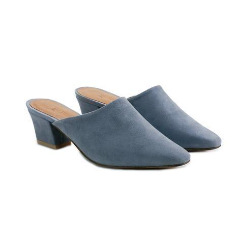 By Far Shoes Sienna Mule in Metallic